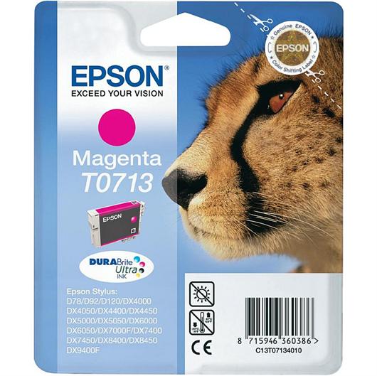 Druckerpatrone Epson T0713 (magenta), Original