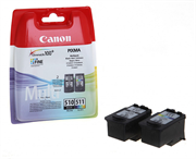 Druckerpatronen Set Canon PG-510 + CL-511, Original