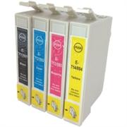 Druckerpatronen Set ezPrint für Epson T0715 (BK/C/M/Y)