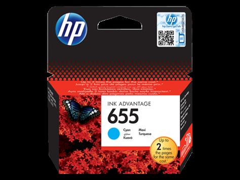 Druckerpatrone HP CZ110AE Nr.655 (blau), Original