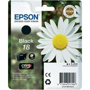Druckerpatrone Epson 18 (C13T18014010) (schwarz), Original
