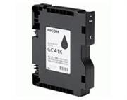 Gel Druckerpatrone Ricoh GC41BK (405761) (schwarz), Original