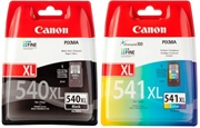 Druckerpatronen Set Canon PG-540XL + CL-541XL, Original