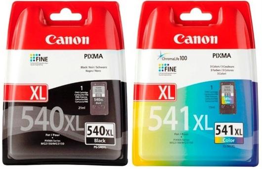 Druckerpatronen Set Canon PG-540XL + CL-541XL, Original
