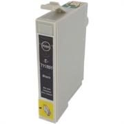 Druckerpatrone ezPrint für Epson T0711 (schwarz), Doppelpack