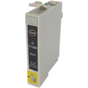 Druckerpatronen Set ezPrint für Epson T0711 (schwarz), 5 Stück