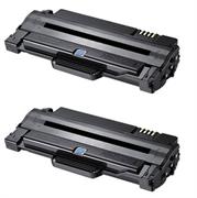 Toner ezPrint für Samsung MLT-D1052L (schwarz), Doppelpack
