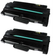 Toner ezPrint für Samsung MLT-D1042S (schwarz), Doppelpack