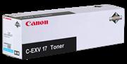 Toner Canon C-EXV 17 C (0261B002AA) (blau), Original