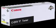 Toner Canon C-EXV 17 Y (0259B002AA) (gelb), Original