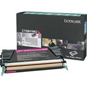 Toner Lexmark C736H1MG (magenta), Original