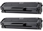 Toner Set für Samsung MLT-D101S (schwarz), Doppelpack, Kompatibler