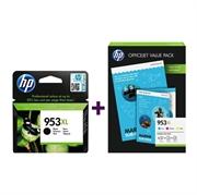 Druckerpatronen Set für HP 1CC21AE nr.953XL (C/M/Y) + L0S70AE nr.953XL (BK) + foto papir, Original